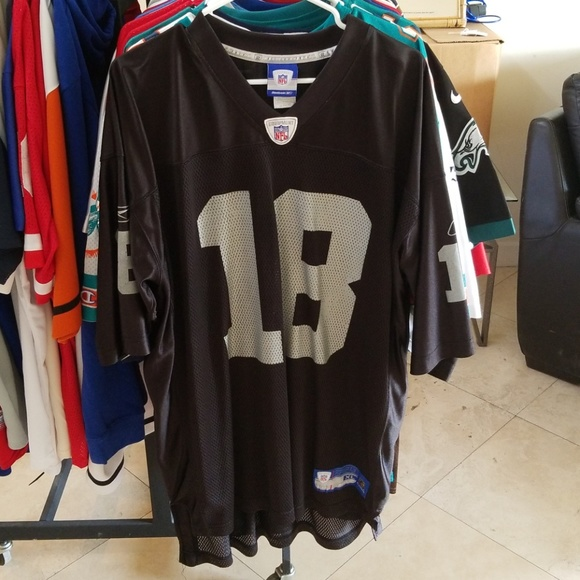 newest eb1aa c6d03 RANDY MOSS OAKLAND RAIDERS THROWBACK JERSEY